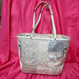 Coach Patchwork Leather Tote